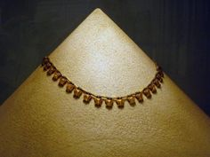 """Gold and lapis necklace at """"Il Museo Egizio - The Egyptian Museum"""" in Torino has one of the finest and stunningly displayed collections in Europe."""