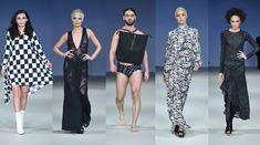 Richard Hallmarq Fashion Show Fashion Events, Fashion News, Fashion Show, School Fashion, Palm Springs, High Neck Dress, Dresses, Style, Turtleneck Dress