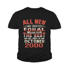The Best Are Born In October 2000 17th Birthday Gifts Tee #gift #ideas #Popular #Everything #Videos #Shop #Animals #pets #Architecture #Art #Cars #motorcycles #Celebrities #DIY #crafts #Design #Education #Entertainment #Food #drink #Gardening #Geek #Hair #beauty #Health #fitness #History #Holidays #events #Home decor #Humor #Illustrations #posters #Kids #parenting #Men #Outdoors #Photography #Products #Quotes #Science #nature #Sports #Tattoos #Technology #Travel #Weddings #Women
