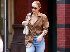This Is How to Wear Ankle Boots With Jeans Now via @WhoWhatWear