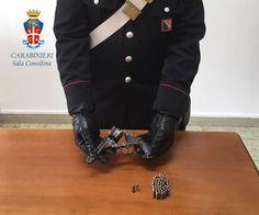 Arrestato 70enne di Padula (Salerno) per ricettazione e detenzione di arma clandestina