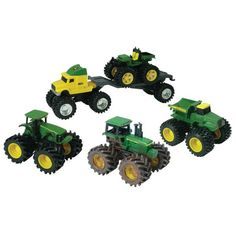 John Deere Toys | John Deere Monster Treads Value Set