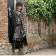 English country boho fashion.