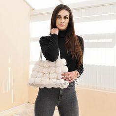£20.80 #ootd #fur #handbag #bag #womenswear #womenfashion #womesnoutfit #girlsfashion #girlstyle #accessory #fashionaccessory #handbag #pompombag #giftforher #furry #londonfashion #fashionitem #rabbitfur Fur Bag, Fur Pom Pom, Rabbit Fur, London Fashion, Rabbits, Bag Making, Fashion Bags, Night Out, Handbags
