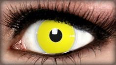 Yellow Zombie Costume Contacts