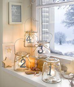Christmas Jars, Christmas Countdown, Christmas 2019, All Things Christmas, Christmas Decorations, Xmas, Merry Christmas, How To Make Drinks, Mason Jar Crafts