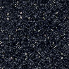 STEPPSTOFF DAI DRAGONFLY - BLAU Bunt, Fabric, Back Stitch, Random Stuff, Animales, Tejido, Tela, Cloths, Fabrics