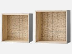 Półki Square II (2/Set)
