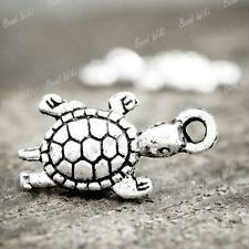 30pcs Tibet Tibetan Silver Antique Animal Tortoise Charm Pendant HI BWTS0531