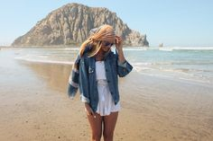How to get photos on solo travel - Beauty really is in the eye of the beholder. If you want photos that you love, you need to know what kind of photos you want. What would your dream album look like? What's your style? Get a general idea of these things so you aren't shooting aimlessly.(Morro Bay)