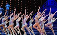 Rockettes doing their glittery thing at the Radio City Christmas Spectacular. Image by Ralph Daily / CC BY 2.0