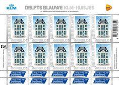 Dutch stamps - KLM huisjes