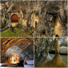 Ermita rupestre de san tirso y san bernabe Burgos