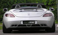 SLS AMG Roadster by #Domanig #mbhess #mbcars #mbtuning