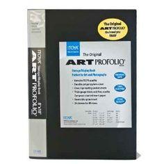 Itoya Art Portfolio 8-10 Inches Storage Display Book, 24 Sleeves for 48 Views - http://electmecameras.com/camera-photo-video/accessories/photo-studio/itoya-art-portfolio-810-inches-storage-display-book-24-sleeves-for-48-views-com/