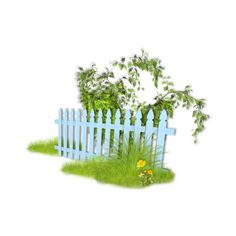 Arana Flipkens — альбом «CLIPART / CLIPART3 / A lovely garden» на... ❤ liked on Polyvore featuring garden, fences, easter, fillers and grass