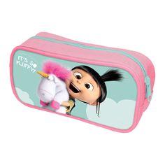 Its So Fluffy Pencil Case School Film Despicable Me Unicorn Minions Agnes  Gru d241d567eeabe