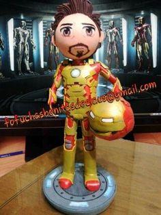 Fofucho Iron Man Fofuchos superhéroes Los Vengadores fofucho Ironman