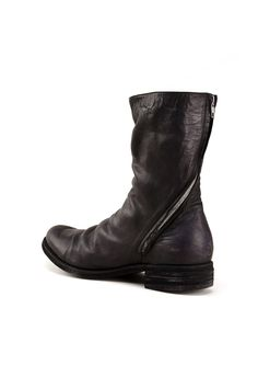 {A1923 / 02 shoe / 05 boot / 02 tall} ST2 Asymmetric Rear Zip Boot