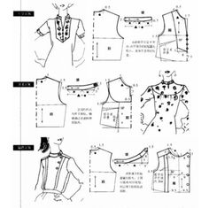 alterations to neckline pattern Blouse Patterns, Clothing Patterns, Skirt Patterns, Coat Patterns, Sewing Patterns Free, Sewing Tutorials, Dress Tutorials, Sewing Clothes, Diy Clothes