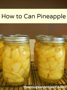 how to can pineapple