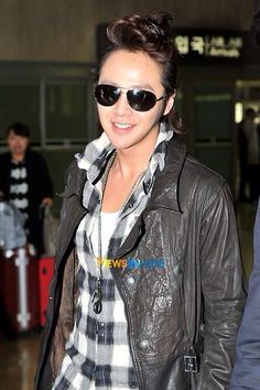 Sukkie in the airport!