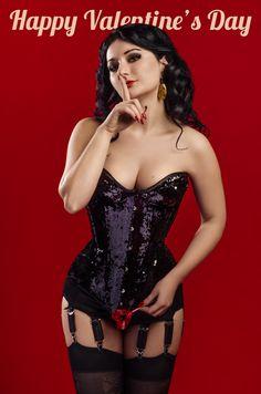 Rose de Noir lady ardzesz corset