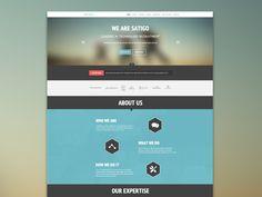 one page website - Google zoeken