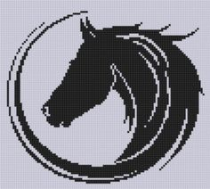 Looking for your next project? You're going to love Horse 15 Cross Stitch Pattern  by designer Motherbeedesigns. - via @Craftsy