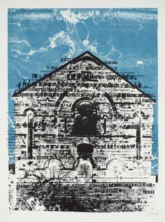 Swansea Chapel, 1966  - John Piper.  I love chapels, despite being an agnostic non-worshipper, and have taken photographs of many of our Yorkshire ones. I wish I could paint them instead. Like this.
