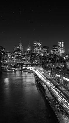 Get Wallpaper: http://bit.ly/2vIpeeB mk04-night-city-view-lights-dark-bridge-nature via http://iPhone6papers.com - Wallpapers for iPhone6 & plus