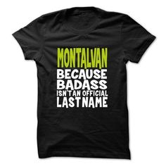 Details Product Its a MONTALVAN thing you wouldnt understand Check more at http://sendtshirts.com/funny-name/its-a-montalvan-thing-you-wouldnt-understand.html