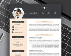 etsy professional resume templates for job seekers by resumeexpert