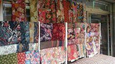 Fabric shop, Japan. 2016 February