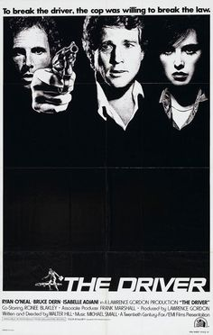 """The Driver,"" d. Walter Hill, international poster"