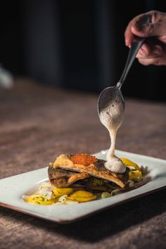 These food photo has been taken in a gourmet restaurant. Creative framing and lighting lets them look delicious. Restaurant Dishes, Restaurant Recipes, Creative Photography, Food Photography, Product Photography, Creative Pictures, Seitan, The Dish, Food Plating