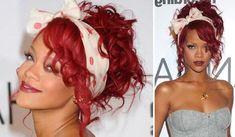rihanna-pin-up Peinados Pin Up, Rihanna, Dreadlocks, Wonder Woman, Long Hair Styles, Beauty, Photos, Costume, Pin Up Hairstyles