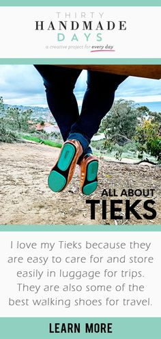 """I love my Tieks because they are easy to care for and store easily in luggage for trips. They are also some of the best walking shoes for travel. I know if I bring them, I will be comfortable and cute at the same time. Thailand Travel, Japan Travel, Travel Usa, Brazil Travel, Peru Travel, Travel Europe, Travel Packing, Tieks Ballet Flats, Tieks Shoes"