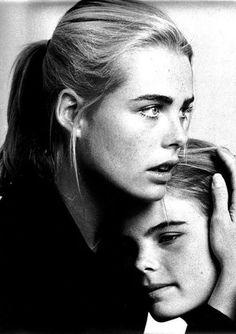 Margaux and Muriel Hemmingway