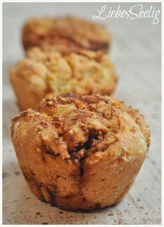 Brioche Cinnamon Rolls - a gluten-free fluffy dream! --- Zimtschnecken-Brioche - ein duftiger Traum ohne Gluten