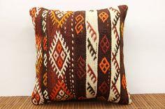 16 x 16 Decorative Kilim pillow cover Vintage by kilimwarehouse, $44.00