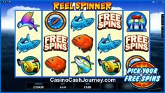 Reel Spinner slot by Microgaming is a deep sea fishing themed slot with 5 reels and 15 pay lines. Features include free spins and built-in achievements. Read more at http://www.casinocashjourney.com/blog/reel-spinner-slot-microgaming/