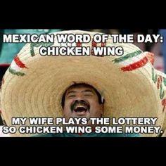 Mexican pun.