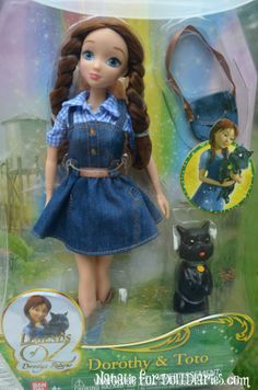 Legends of Oz Dorothy Fashion Doll and Toto Review