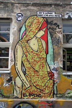 Street Artist: El Bocho in Berlin