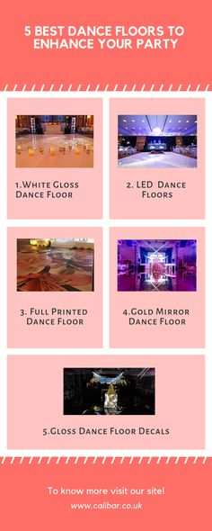 If you've ever thought about having a light-up dance floor at an event then check out 5 best LED dance floors.