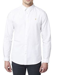 THE BREWER SLIM FIT SHIRT, White