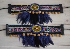 Loom beaded bracelet Dreamcatcher with waxed cord / Native Hippie Bohemian, Boho Gypsy, Hippie Chic, Gypsy Boots, Boho Boots, Cowgirl Boots, Botas Boho, Boho Chic, Hippy Fashion
