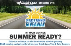 Win a dream vacation from Quick Lane!