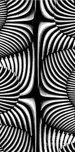 Digital Art - Geometric Arches by Rafael Salazar